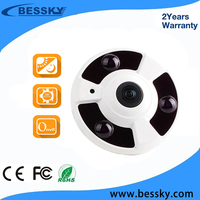 2017 New HD star light Fish Eye IP camera 960P 360 degree Full View Mini CCTV Camera 1.3MP Network Home Security WiFi Camera