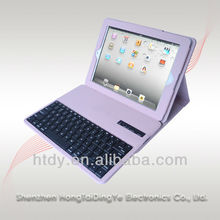 Removable Bluetooth Keyboard with Leather Case Cover For iPad 2/3/4