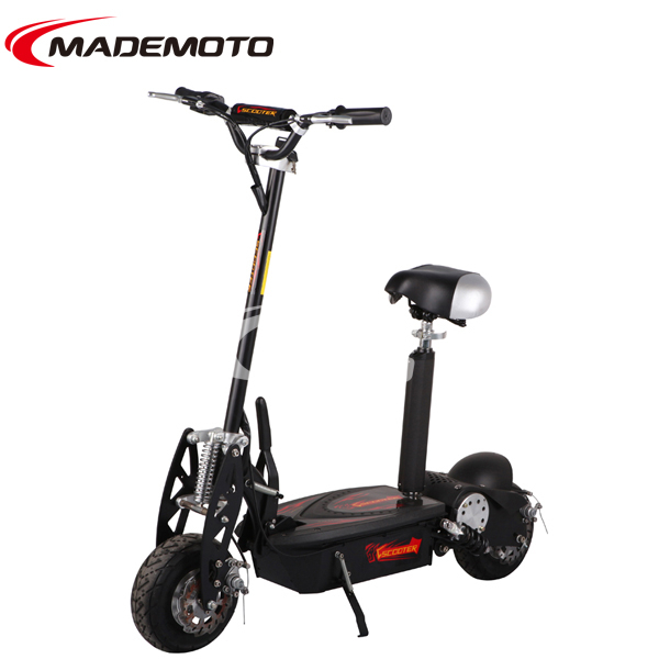 EEC Approved 500W 36V Foldable Electric Scooter with Removable Seat