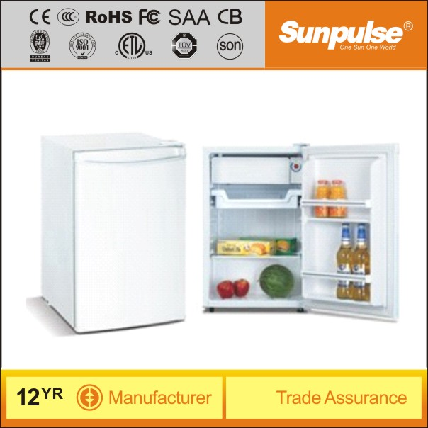90L Solar Powered DC fridge with Intergrated solar system