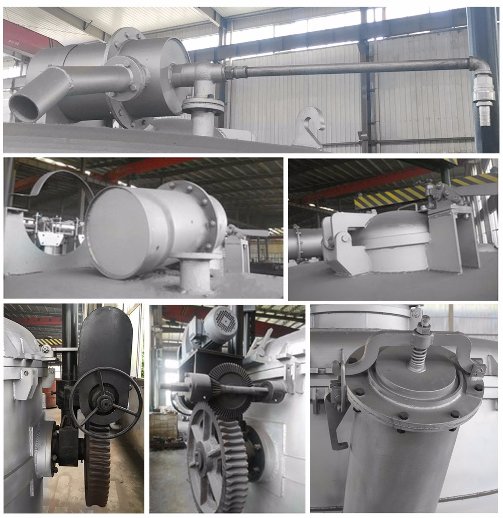 High Sealed Liquid-Metal Solution Container Vacuum Ladle for Industry