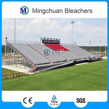 MC-PLR01 outdoor portable metal structure temporary aluminum grandstands for field,football elevated bleacher with roof