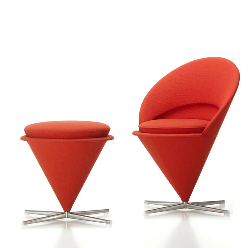 CH254 Wholesale Verner Cone Chair in living room