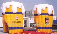 2013 beer inflatable advertising,inflatable beer can advertising model