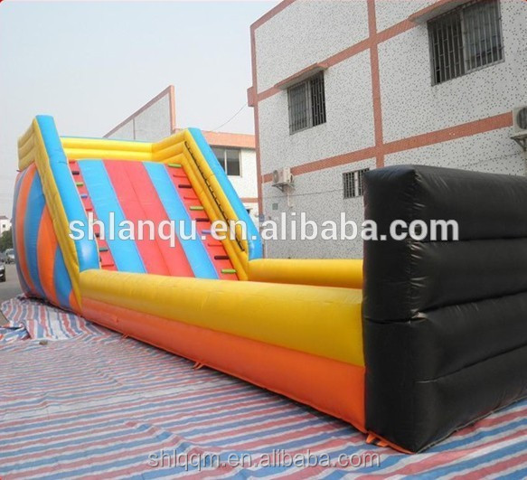 giant land inflatable ramp for outdoor game
