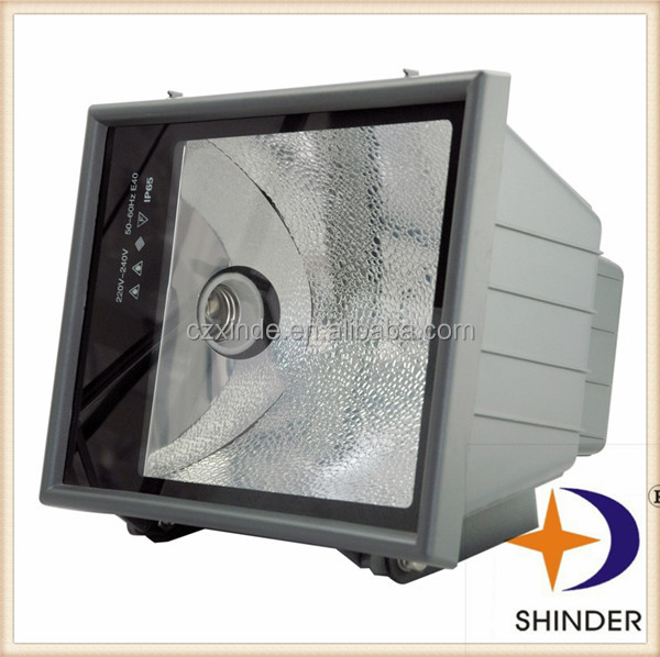 IP65 70W 100W 150W waterproof projector light metal halide lamp cover