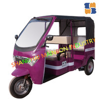 Mainbon 60V brand electric battery operated power tricycle rickshaw pedicab for passenger hot sale passenger taxi