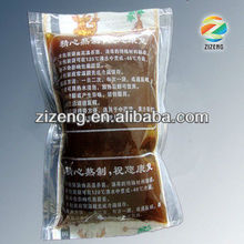 Microwaveable Plastic Packing bag for liquid herbal medicine with 120 degree high temperature resistance