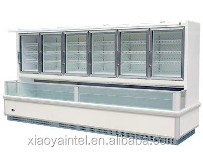 China Little Duck open type cooling refrigerator freezer for frozen food E7 ST.PAWL with CE certification