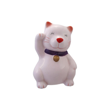 Ceramic Fortune Cat Coin Bank For Girls