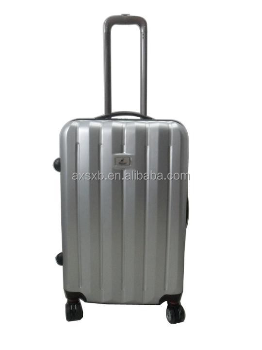 ABS 2016 hard lilac hot sale travel trolley carry-on light luggage trolley vanity case luggage