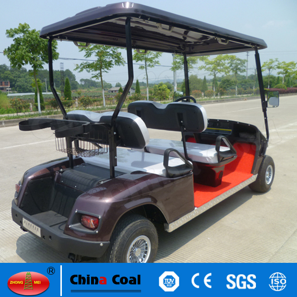 4 seaters electric golf buggy for sale
