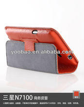 YOOBAO High quality Executive Leather stand case cover for Samsung Galaxy Note2 N7100