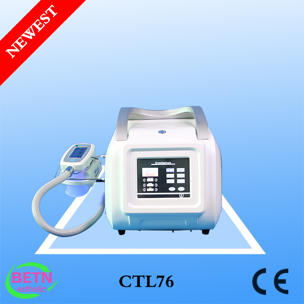 Newest portable Non-Invasive single or 3 Handles Freezing Fat Vacuum slimming /Cryolipo Vacuum body shape machine