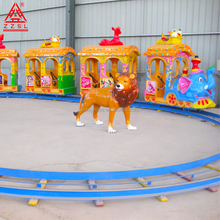 Manufacturer Outdoor Kids Riding Train Mini Electric For theme park