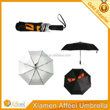 special design 3 fold auto open and close umbrella