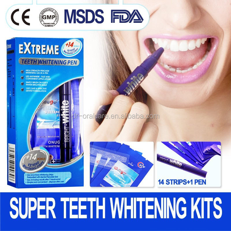 Home care dental Teeth Whitening Pen to give you a white teeth