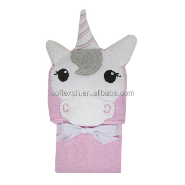 Extra Soft and Thick for Infant, Toddler, Newborn and Kids custom bamboo unicorn baby hooded towel