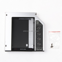Universal Laptop 2nd HDD Caddy 12.7mm CD/DVD-ROM Optical Bay SATA to IDE Hard Drive Caddy