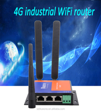 Long Range M2M Ethernet WiFi 3G 4G Industrial Wireless Router with Sim Card Slot