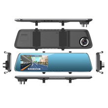 2018 Most popular car top view camera system AS2 4.3inch touch screen with night vision video camera for car dvr