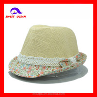 2013 cheap and elegant lady straw hat straw boater hats