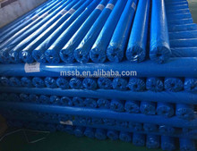Blue pe tarpaulin roll