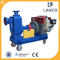 ZW High Self Priming Centrifugal 3 inch 3 bar pump
