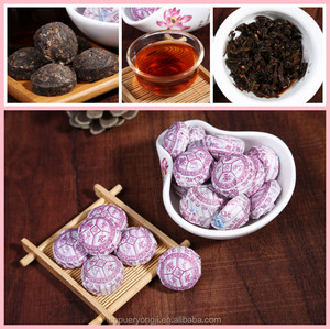 Famous Brand Chinese Yunnan Puerh tea health body rose flavor mini tuo tea