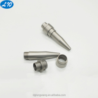 High quality customized precision metal cnc lathe turning small stainless steel pen parts