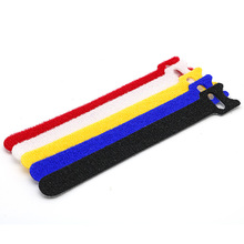 double side strap Reusable Carry straps Self gripping cinch straps hook loop cable tie