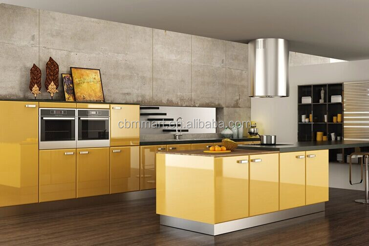 Top quality with good price high gloss lacquer mdf wood for Best quality kitchen cabinets for the price