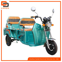 2016 new comfortable electric tricycle for passenger with seat and backrest