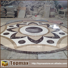 Hot selling waterjet composite marble tile sparkle flooring
