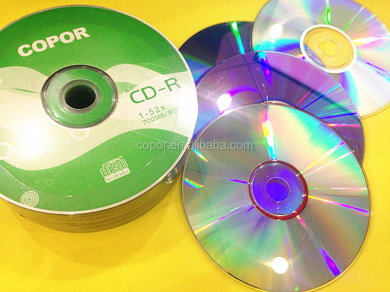 factory can china blank cdr disc with customize logo