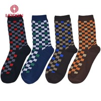 Fashion manufactory breathable 100% organic combed cotton men's socks