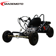 4 Wheel Steering Single Cylinder Engine Go Kart Racing
