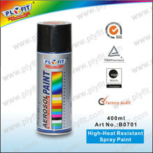 High temperature/heat spray paint