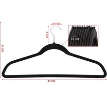 wholesale swivel hook hangers assessed Velvet Space Saving Non-Slip velvet Coat Hanger