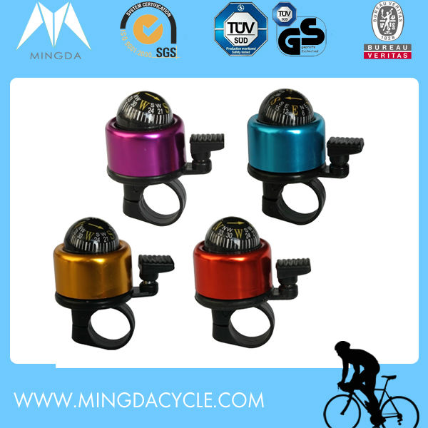 Compass Multicolored Aluminum Bicycle Bell