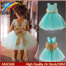 2017 summer children party frocks designs lovely kids dresses wholesale baby clothes