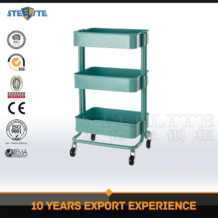 Simple Design Kitchen Trolley Stainless Steel Trolley