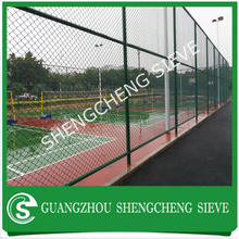 2016 Various vinyl coated chain link fence colors for sports ground