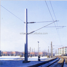 33KV ~132KV Hot Dip Galvanized Transmission Line Electric Steel Power Pole