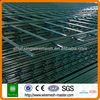 Green painting double wire garden mesh
