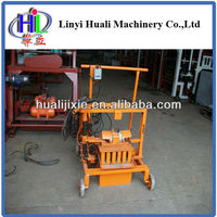 for small family business to do qmr2-45 manual mobile brick machine