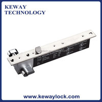 New Fail Secure Electric Solenoid Bolt Lock with Key and Lock Signal, Electric Bolt Lock with LED and Oblique Bolt