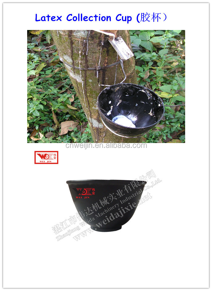 Thailand Plastic Latex Cup/Latex Collection Cup From Rubber Tree