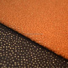 hight quality point bronzing suede fabric for sofa