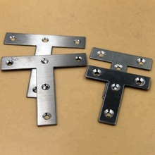 Heavy duty Flat L corner braces fixing/repair angle bracket plate